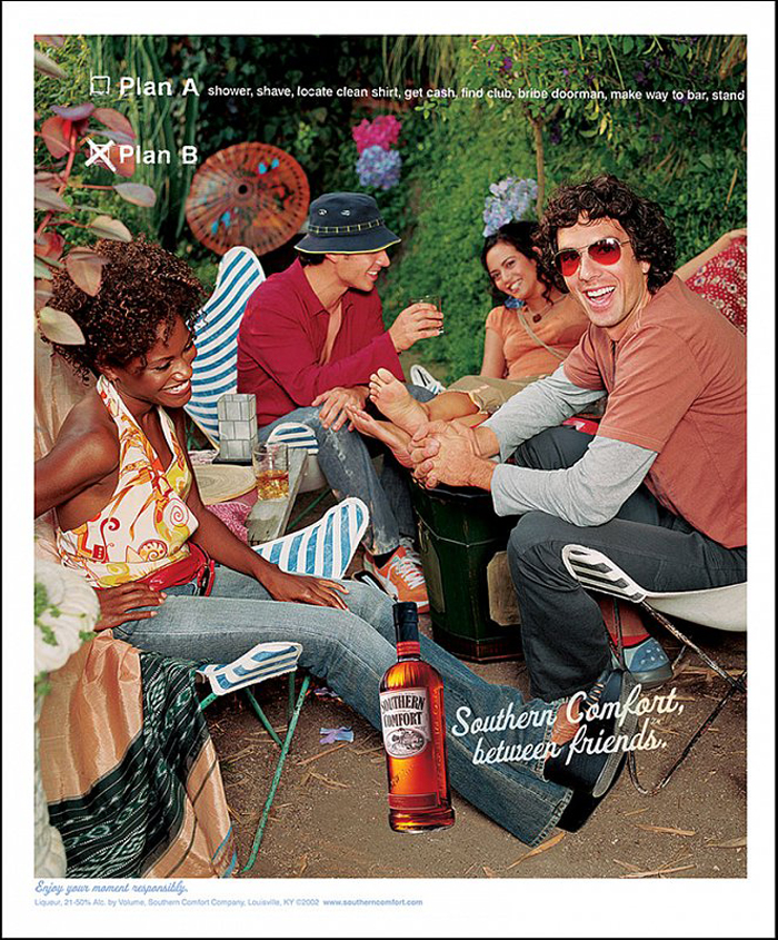 SOUTHERN COMFORT Ad Campaign 2007