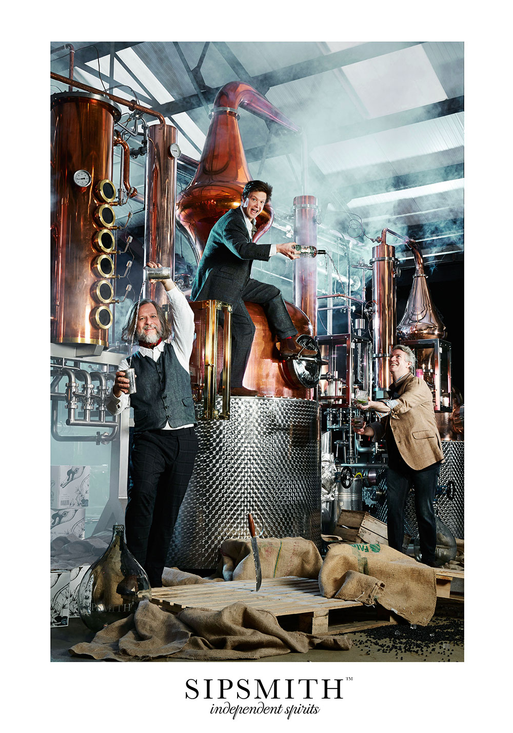 SIPSMITH INDEPENDENT SPIRITS campaign