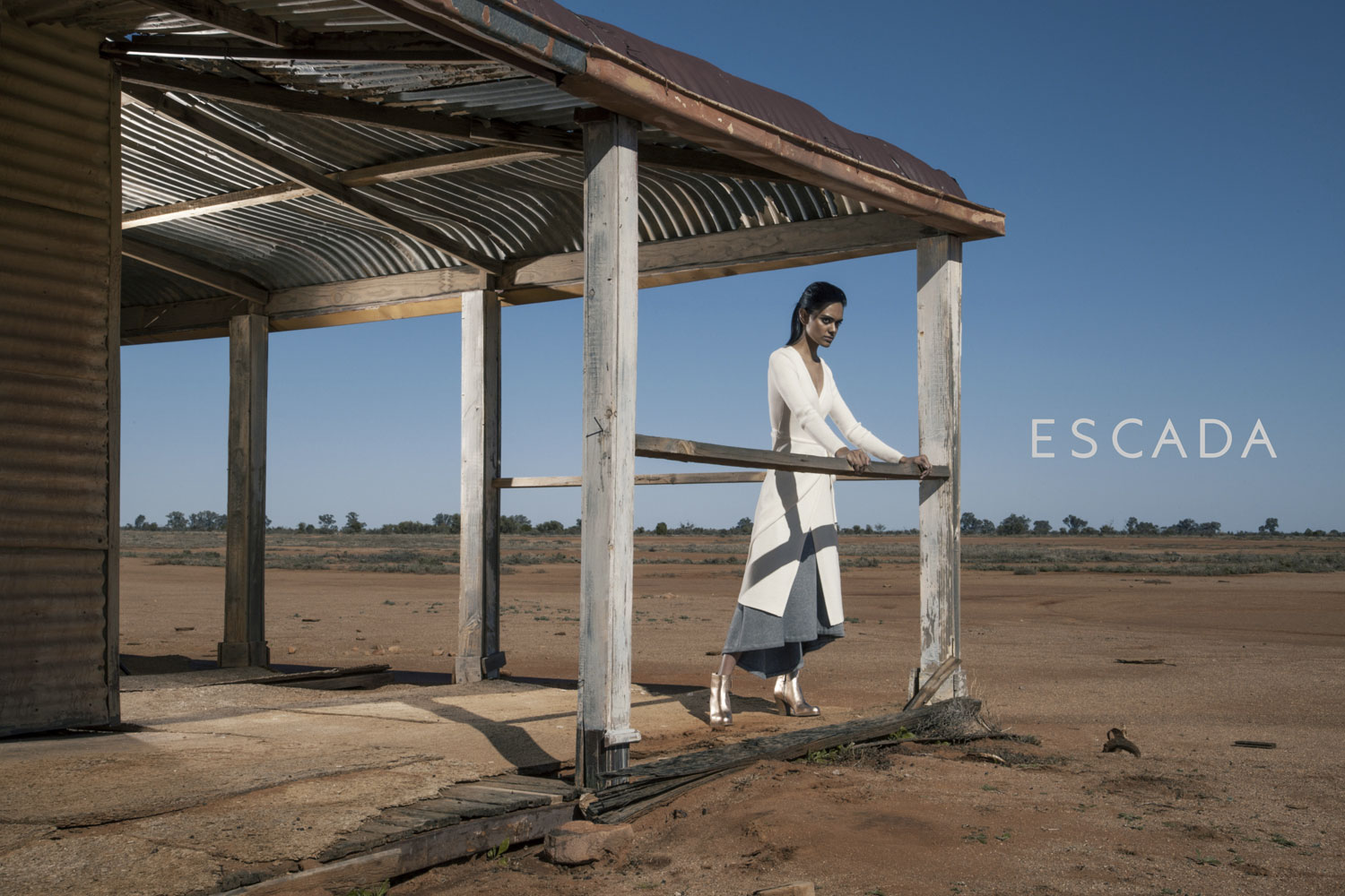 ESCADA - Part of a sponsored editorial campaign branding project