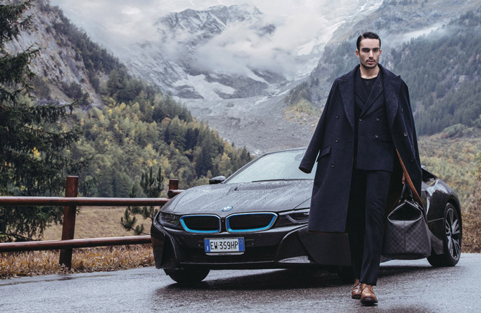 GQ magazine - Louis Vuitton & BMW advertorial