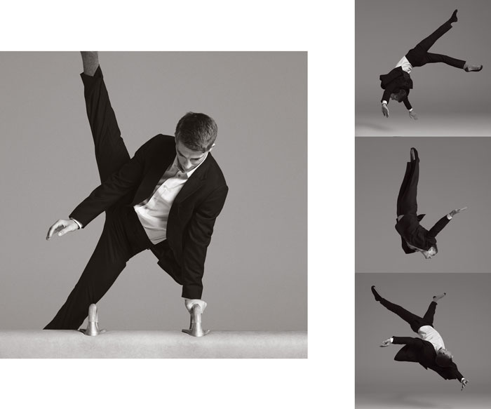 "Max Whitlock X Paul Smith - 'A suit to travel in"" campaign"
