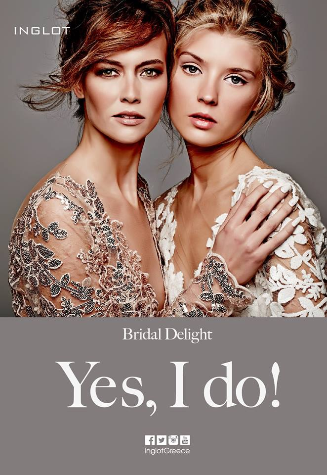 INGLOT, Bridal Delight collection campaign